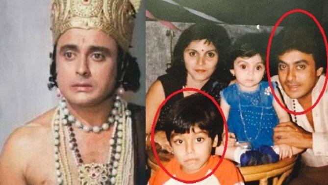 ramayan actor family