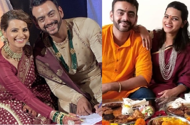 astad and swapnali wedding