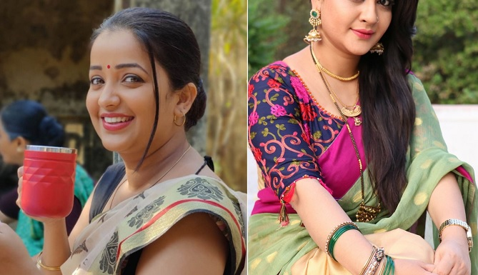 actress apurva and pratiksha
