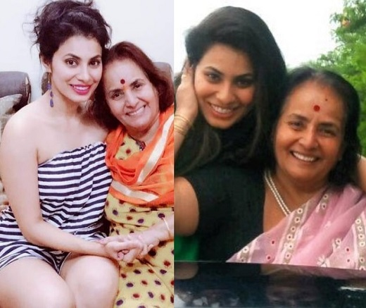 marathi actress with mom