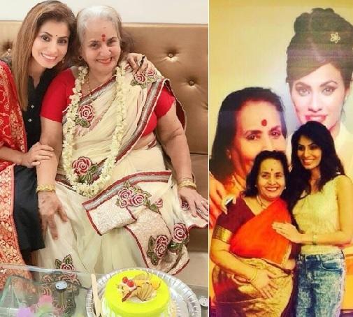manisha kelkar with mother