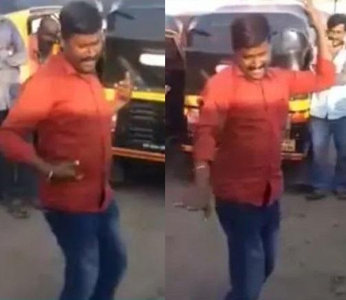 babaji kamble rickshawala dance