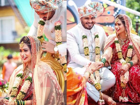 ruchita jadhav wedding photo