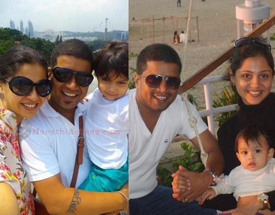 manasi salvi family photos