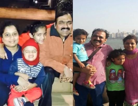 shilpa anspure family photo