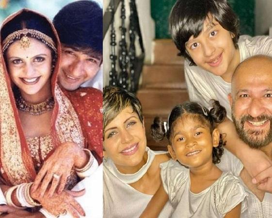 actress mandira bedi family