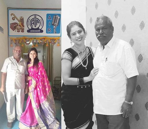 ashwini with dather pradeepkumar