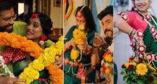 marathi actress dohale jevann