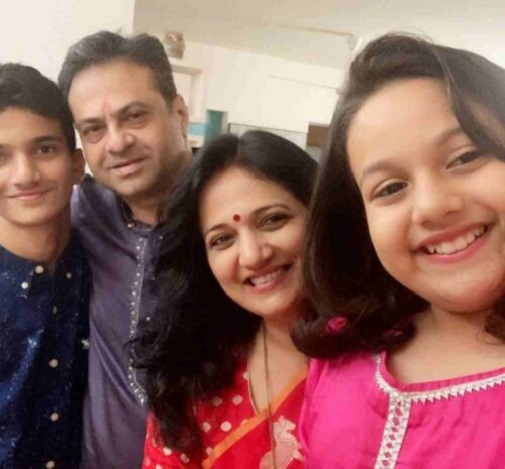 actress kavita lad medhekar family