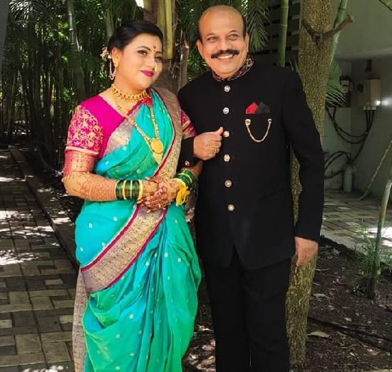 kishor mahabole daughter shruthi wedding