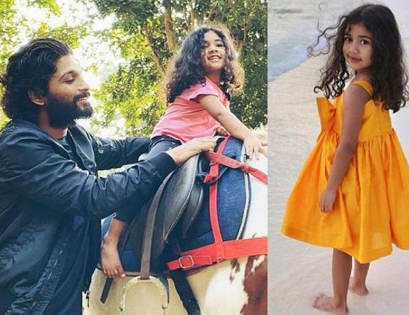 allu arjun daughter in film