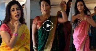 marathi actress bhannat dance