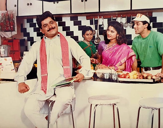 laxmikant and priya berde in hindi film