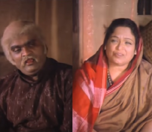 ashok saraf and mandakini bhadbhade