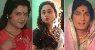 marathi actors in saree
