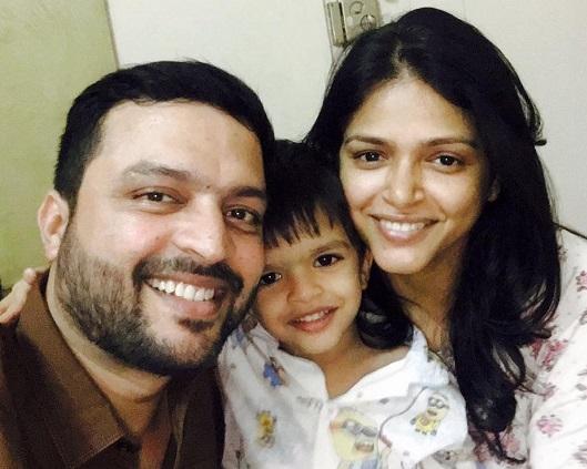 actor ankush chaudhari family