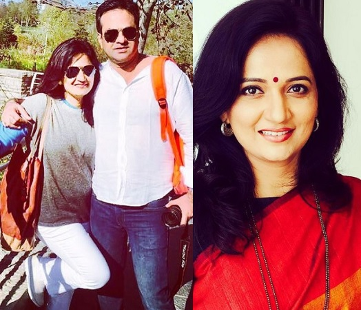 actress kavita lad medhekar husband