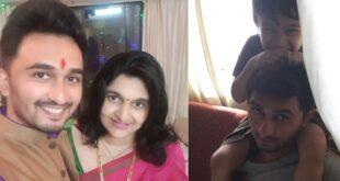 vikas patil with wife swati patil